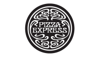 pizza express black logo 0